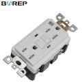 Custom design 15A 125V GFCI universal electric wall socket