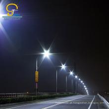 Materiais garantidos pelo fabricante levou luz de rua ao ar livre