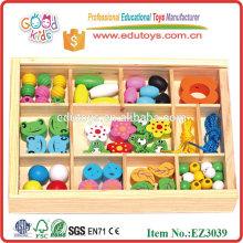 Entspricht ASTM Bunte Frosch Perlen Box Creative Kinder Spielzeug