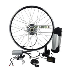 TOP ECYCLE fashion cheap price high range 350W electric conversion bicycle kit made in china