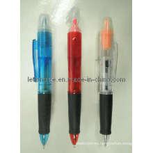 Pluma multifunción con bolígrafo y resaltador (LT-C186)