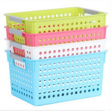Plastic Rectangle Storage Box Basket Holder Organizer