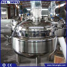 Mélangeur de réservoir de l'acier inoxydable KUNBO mélangeant l'équipement pour la boisson de médecine de nourriture
