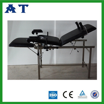 Stainless steel manual delivery bed