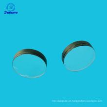 vidro óptico convexo das lentes de Plano 45mm do comprimento focal do diâmetro 25mm