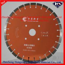 Disque de coupe à lames de scie à diamant 450 mm pour granit