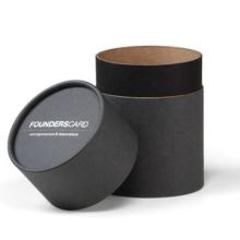 Caja de empaquetado de té negro orgánico de gama alta