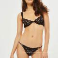 FDBL7112903 desi femme sexy photo sexy sexy arc noeud transparent dentelle noir quater tasse femmes soutien-gorge