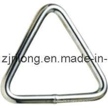 Acier / Tache Moins Acier Triangle Anneau Dr-Z0039