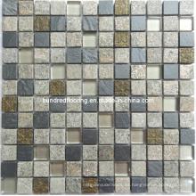 Mosaico de piedra Mosaico mosaico de cristal (HGM225)