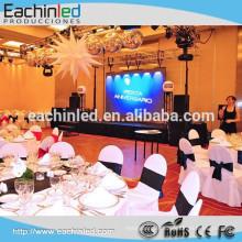 Eachinled P6.944 500x1000mm arrière-plan intérieur de mosaïque vidéo a mené l'écran numérique pour la décoration de scène de mariage