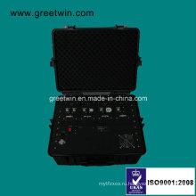 600W 6-полосный мобильный телефон Jammer / портативный Jammer (GW-VIP JAM6)