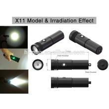 Diving Backup light XM-L U2 LED small light led flashlight torch