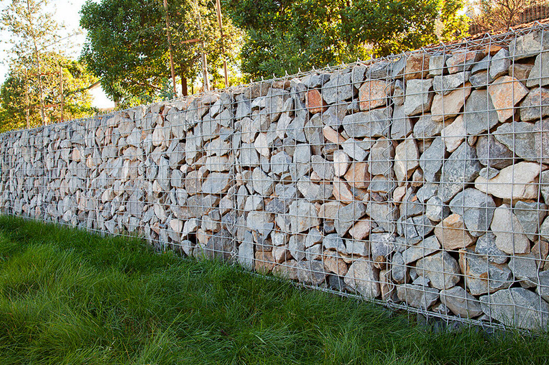 Gabion Noise Barrier