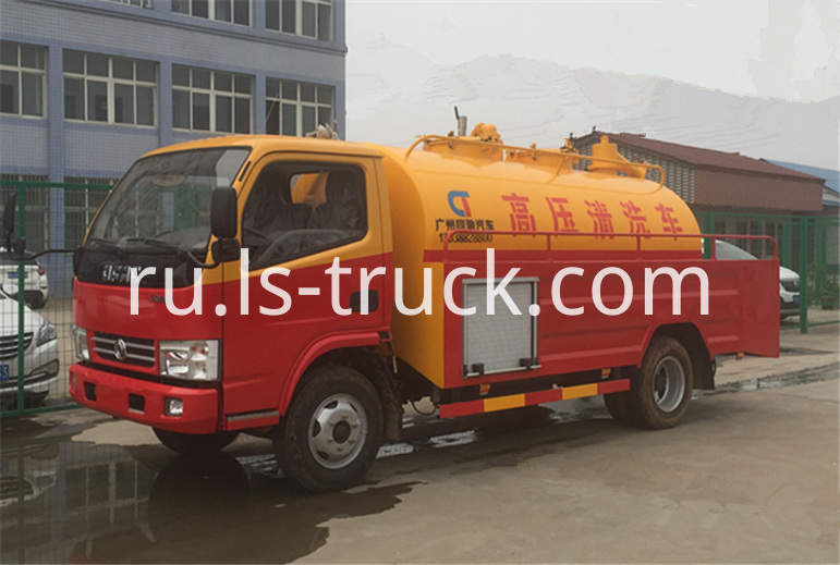 high pressure cleaning truck
