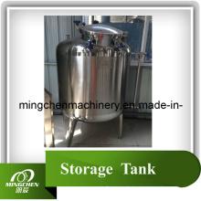 Réservoir de stockage sanitaire en acier inoxydable avec isolation thermique