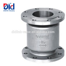 Symbol Direction Of Flow 1 Inch Swing 316 Stainless Steel Vertical Sewage Check Valve Silent Type