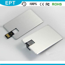 Fördernde Kreditkarte USB-Flash-Laufwerk-Karte USB-Feder-Laufwerk mit kundengebundenem Logo (EC012)