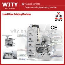 2015 lleno automático de alta precisión ZBS serie lable flexo precio de la máquina de impresión