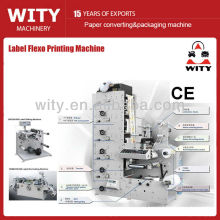 2015 full automatic high precision ZBS Series lable flexo printing machine price
