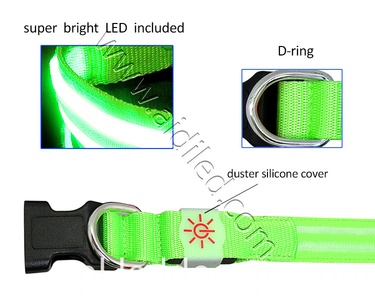 Flashlight Dog Collar