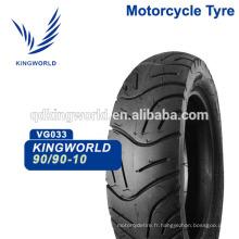 90/90-10 pouce cyclomoteur scooter pneu tubeless