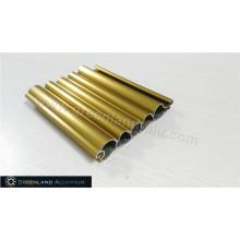 Anodizado Brillante Oro Aluminio Roller Shutter Slat