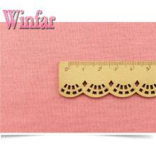 Plain Dye Stretch 100% Polyester Spun Yarn Fabric