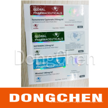Wholesale Free Design 10ml Hologram Vial Labels for Injection