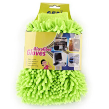 Excellent Material Customized Wholesale BBQ Car Wash Microfiber Gloves Suitable For Winter