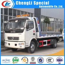 Caminhões de reboque do Wrecker de 4 * 2 Dongfeng caminhões de reboque do Wrecker de 6wheel Dongfeng