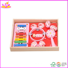 2014 New Wooden Toy Kids Music Set, Learn Piano Musical Instrument Set and Hot Sale Learning Toys for Baby W07A052