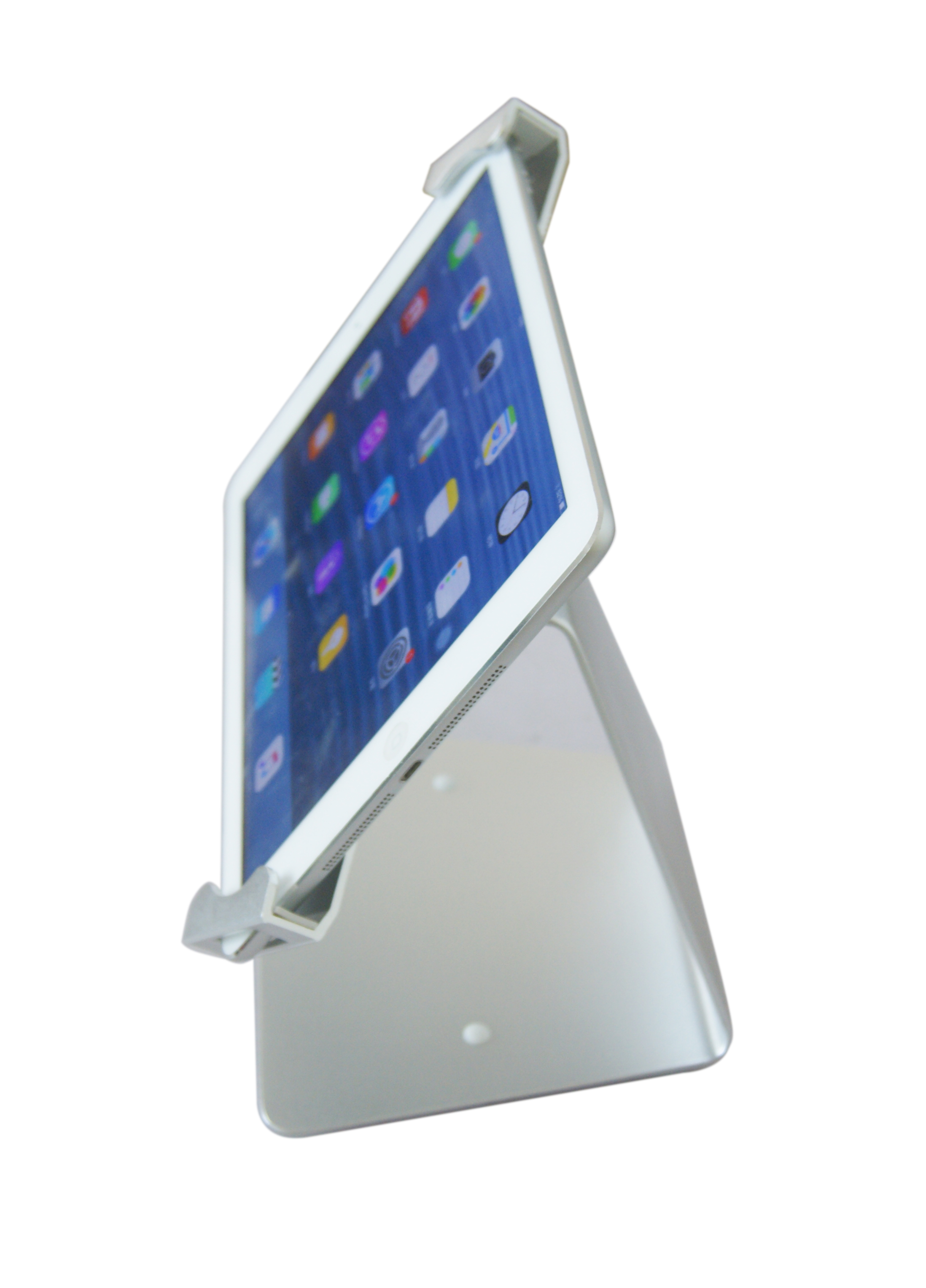 P20Q tablet desktop stand side