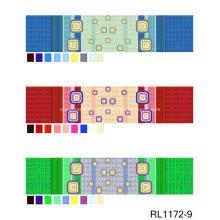 Drap-housse de lit de couleur coloré sur mesure pour la vente