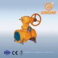 API6D фланцевое соединение газовый шаровой кран 1.4408 фланцевый шаровой кран dn40 wcb