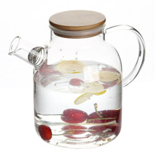 50oz Handmade High Borosilicate Glass water teapot
