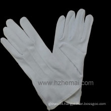 Bleach Cotton Parade Glove with Button