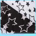 Five Stars Pattern 100 Viscose Rayon Fabric for Shirt/Blouse /Dress