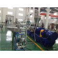 PP PE PA PS compounding masterbatch parallel co-rotating twin screw extruder