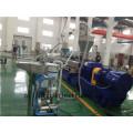 PP PE PA PS compounding masterbatch paralelo co-rotação extrusora de parafuso duplo