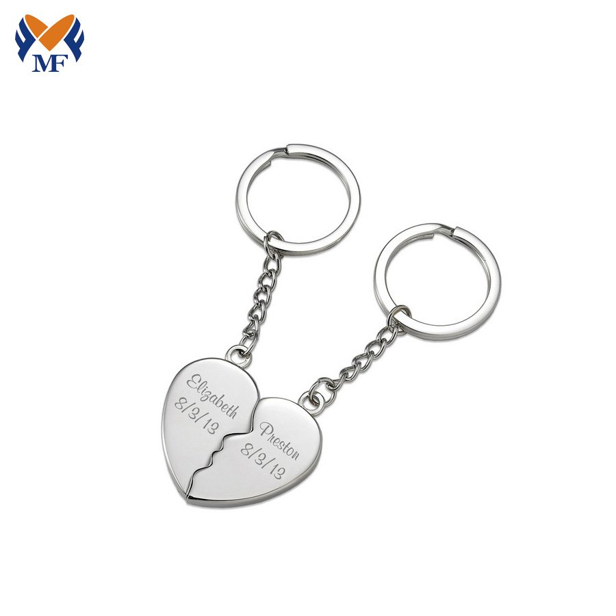 Personalized Keychain For Couples