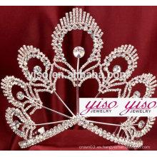 El disfraz de encargo de encargo del lujo de la princesa corona la tiara