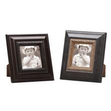 Wooden Antique Gesso Photo Frame