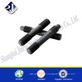 China supplier carbon steel double head thread stud bolt