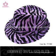 2013 sombrero barato del partido del leopardo para el adulto