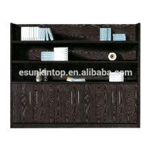 Деревянный меламин, отделенный классическим книжным шкафом с лестницей (B846-1)
