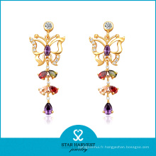 Bijoux de couleur en argent sterling de charme coloré pour la vente en gros (E-0157)
