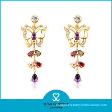 Colorful Color Sterling Silver Charming Jewellery for Wholesale (E-0157)