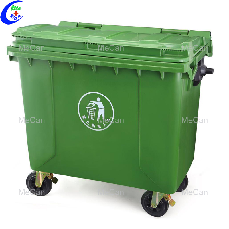 Mobile dustbin plant
