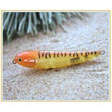 PLL002 6CM 10Gsnake plástico lápiz cebo pesca señuelo lápiz
